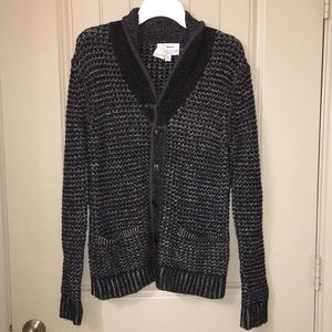 Rag & Bone Chunky Marled cardigan sweater sz M